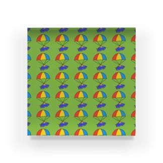 パラシュートウミウシさん グリーン Acrylic Block