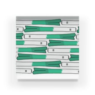 ネギフル 横 Acrylic Block