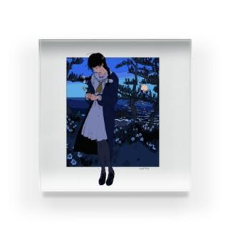 夜半 Acrylic Block