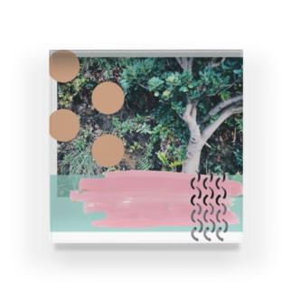 かわいい木 Acrylic Block