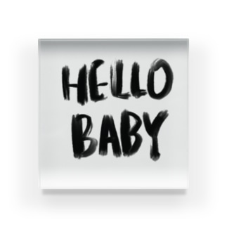 Hello Baby アクリルブロック