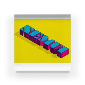 "NEMUI ""POP"" Acrylic Block"