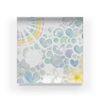 絵描き-國重 奈穂-9 Acrylic Block