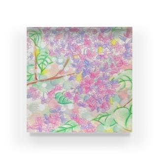 絵描き-國重 奈穂-11 Acrylic Block