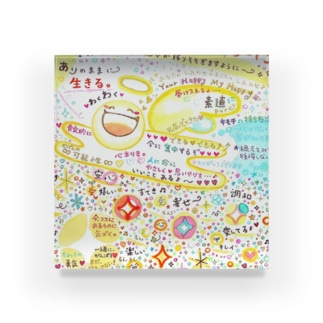 絵描き-國重 奈穂-13 Acrylic Block