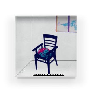 脳内旅行- armchair traveler - Acrylic Block
