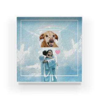 im a dog Acrylic Block