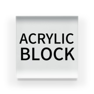 ACRYLIC BLOCK Acrylic Block