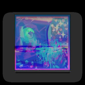 nmzknのcollageart Acrylic Block