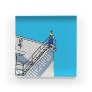 空への階段 Acrylic Block