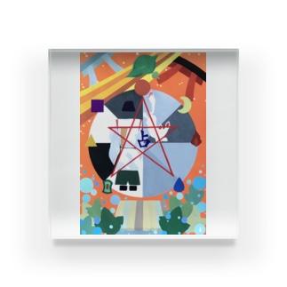 安倍晴明神社 Acrylic Block