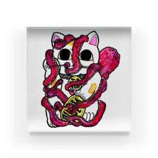 招猫蛸 Acrylic Block