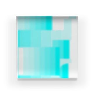sky Acrylic Block