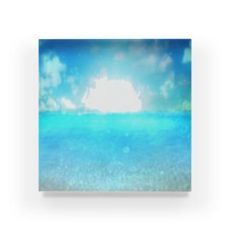 Sea1アクリルブロック Acrylic Block