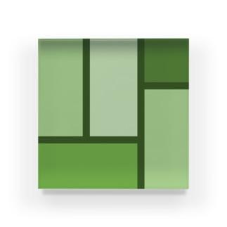 tatami v2 Acrylic Block
