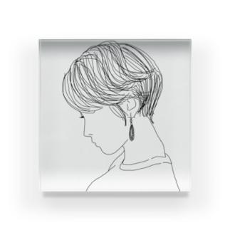 オトナ女子 Acrylic Block