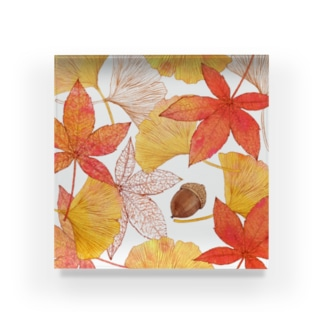 秋の色 Acrylic Block