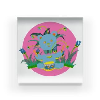 MUSIC Acrylic Block