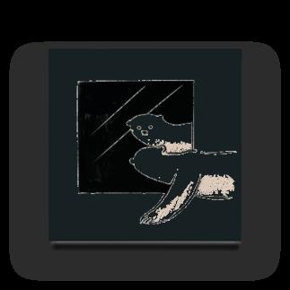 karitaのkuma Acrylic Block