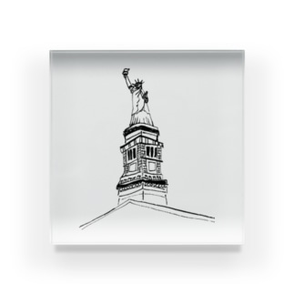 "Travel series ""ニューヨーク"" Acrylic Block"