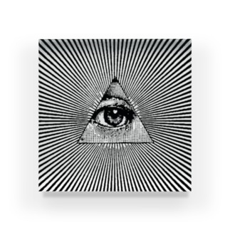 Illuminati eye Acrylic Block