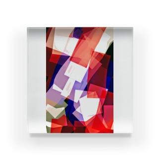トリップ Acrylic Block