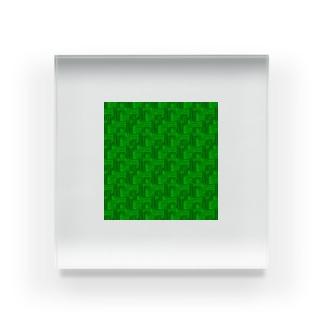 スーファミを ガッ てしたときのアレ。 Acrylic Block