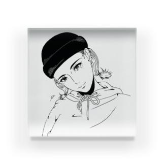 ワッチgirl Acrylic Block