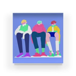 MEGANE BOYS Acrylic Block