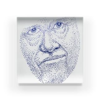 点描 by サワソン Acrylic Block