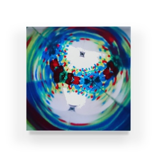 Kaleidoscope-2 Acrylic Block