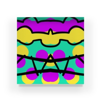 カラフルさいけ Acrylic Block