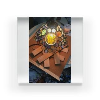光の中に Acrylic Block