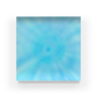 ブルーアイ Acrylic Block