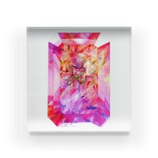 妖精紅玉 Acrylic Block