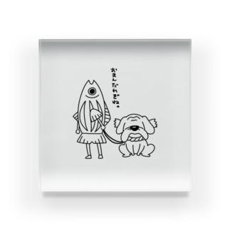 土佐弁警察かつおくん Acrylic Block