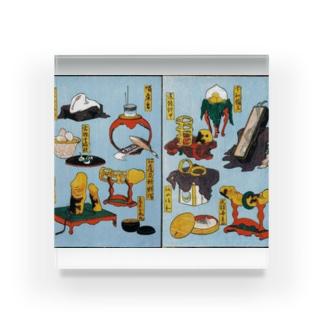 葛飾北斎 大人のおもちゃ Acrylic Block