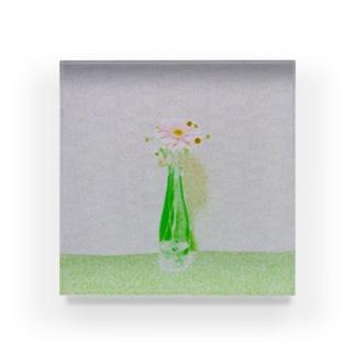 瓶入りのガーベラ Acrylic Block