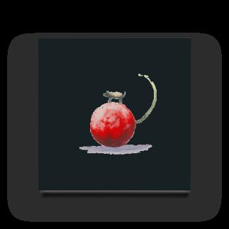 boshkunの大きな赤いさくらんぼ Acrylic Block