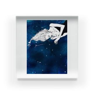 涙と星。 Acrylic Block