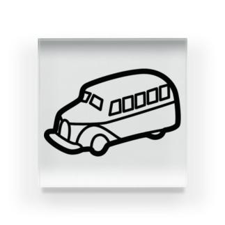retro-Bus Acrylic Block
