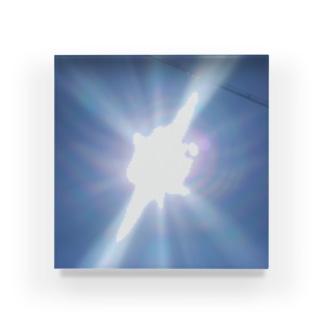 太陽サンサン Acrylic Block