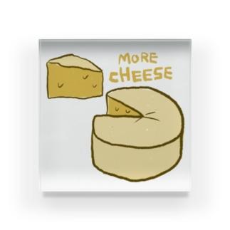 more cheese  Acrylic Block