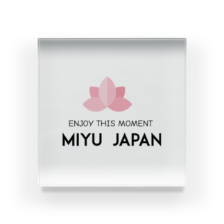 miyu_japan Acrylic Block