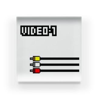 VIDEO 1 Acrylic Block