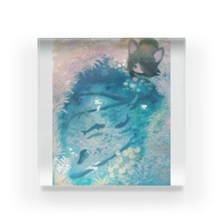 先日の夢 Acrylic Block