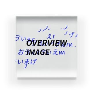 """OVERVIEW IMAGE"" Acrylic Block"