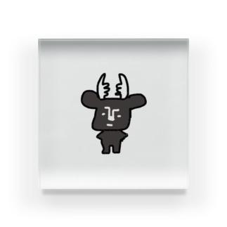 黒BUSHIKA Acrylic Block