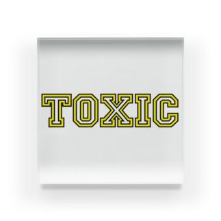 toxic-1 Acrylic Block