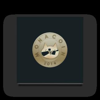 OWLCOIN ショップのMonacoin(モナコイン) Acrylic Block